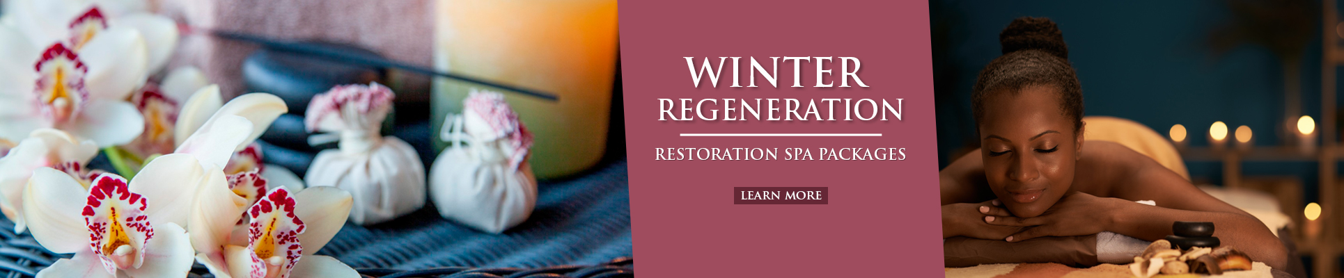 Spa in the country Winter Specials