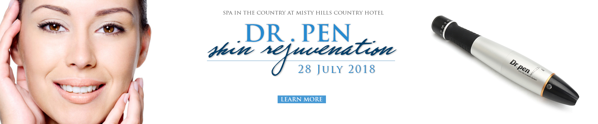 Spa in the Country Dr Pen micro needling Treatment Package launch Spas in Gauteng