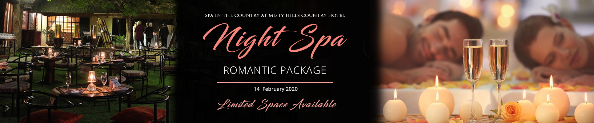 Spa in the Country Valentines Day Treatment Packages Muldersdrifts Night Spas