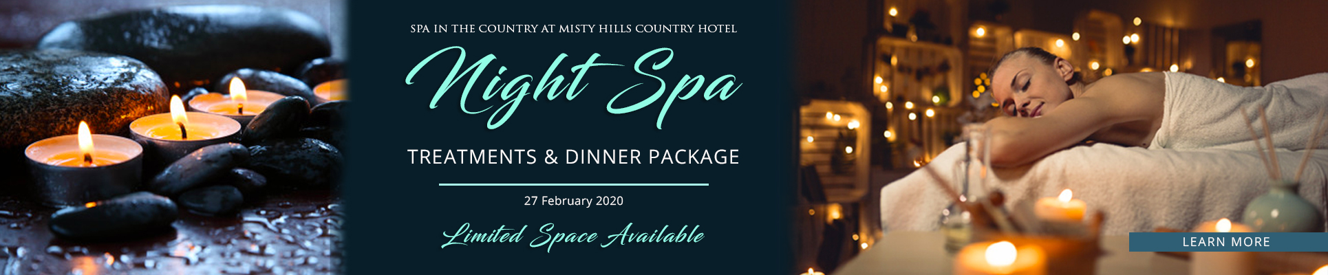 Spa in the Country Night Spa Treatment Packages Muldersdrifts Night Spas